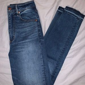 Abercrombie Super High Rise Jeans